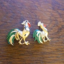 Vintage Medium and small Rooster Brooch/Pin lot  - $21.02