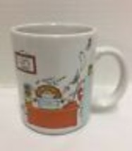Vtg Hallmark Coffee Mug How To Get Along At The Office Work Secretary Cl... - $24.84