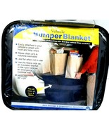 "Vehicle Bumper Blanket by Hoppy 36"" x 24"" Black Fits most...see photos NEW! - $0.99"