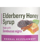 ELDER BERRY HONEY SYRUP - Organic Thick & Fruity Immune Support Tonic USA - $23.49+