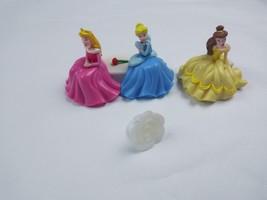 Disney Princess Once Upon a Moment Cake Topper Cinderella Belle Aurora - $9.46