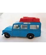 Matchbox Land Rover Safari Turquoise Blue Light Luggage series 12 Lensey - $16.82