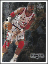 "*HAKEEM OLAJUWON* 1999 UPPER DECK ""BLACK DIAMOND"" CARD. HOUSTON ROCKETS !! - $2.00"