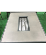 Propane fire pit table coffee height rectangular outdoor cast aluminum p... - $1,341.45