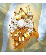 HAUNTED ANTIQUE RING ROYAL HARVESTING GOLD EXTREME MAGICK MAJESTIC COLLE... - $199.77