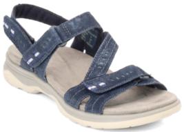 Earth Origins Higgins Holland Sz 8 M EU 39 Women's Suede Sport Sandals N... - $39.55