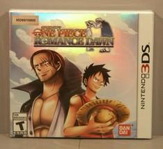 One Piece: Romance Dawn (Nintendo 3DS, 2014) Y-Fold Sealed BRAND NEW 053... - $99.95