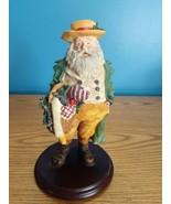 "Dept 56 Santa Large Figurine Goose 9"" READ - $19.75"