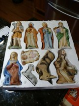 Vintage Homco Nativity 5126 Set NICE - $131.20