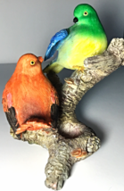 THREE FIGURINGS BIRDS, FAIRY, KITTENS - $25.00