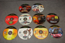 XBOX: 10 Game Lot - Fire Blade + Advent Rising + Crimson Skies + Gotham ... - $20.00