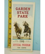Vintage Garden State Park Horse Racing Official Program Summer 1946 Aug-Oct - $29.21