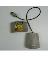 Hey You Pikachu Nintendo 64 2000 Cartridge Game & VRU No Box Not Tested - $35.00