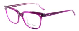 Calvin Klein CK5963 480 Women's Eyeglasses Frames Purple 52-16-140 + CASE - $57.84