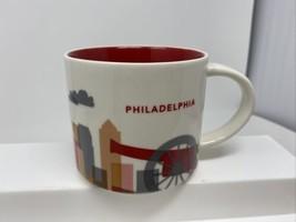 2014 Starbucks You Are Here Collection Philadelphia Mug 14fl Oz - $14.84