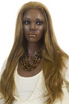 Chestnut Brown Brunette Long Premium Remy Human Hair Monofilament Straight Wigs - $444.50