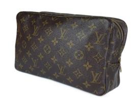 LOUIS VUITTON TROUSSE TOILETTE 28 Monogram Canvas Cosmetic Pouch Bag LP2613 - $189.00