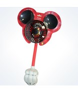 Disney Parks Mickey Mouse Clip-On Fan New With Card - $21.58