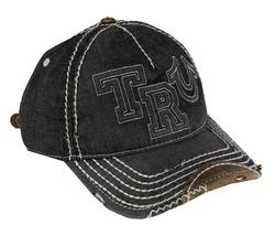 New True Religion Men's Premium Classic Trucker Distressed Hat Cap Buddha TR1995 image 3