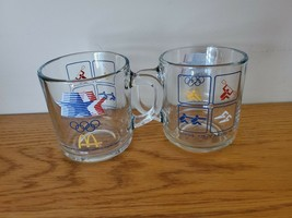 Two Mcdonalds Summer Olympic 1984 Cups - $9.99