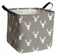Kunrosquare Storage Basket Waterproof Canvas Kids Laundry/Nursery Hamper... - £11.56 GBP