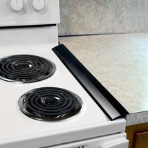 Plum Hill Silicone Stove Counter Gap Covers - Gap Cap Seal Black - $11.81