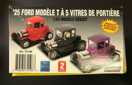 Lindberg '25 Ford 5 Window Tall T 1/24 Model Kit 72196 NEW IN BOX image 5