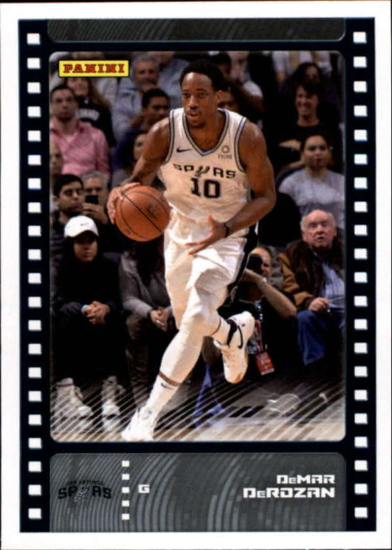 Primary image for 2019-20 Panini NBA Sticker Box Standard Size Insert #44 DeMar DeRozan San Antoni