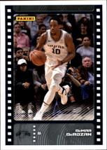 2019-20 Panini NBA Sticker Box Standard Size Insert #44 DeMar DeRozan San Antoni - $2.49