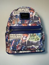 New Disney Parks Loungefly Star Wars Movie Poster Collage Mini Backpack NWT - $103.49