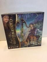Josephine Wall's Glitter & Gold 750 Piece Puzzle Minerva's Melody Sure-Lox - $14.01