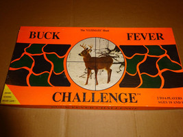 Vintage 1st Edition Buck Fever Challenge Hunting Board Game, Collector's... - $29.99