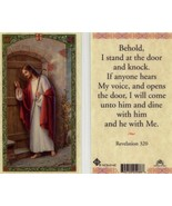 3 Cards -  Behold I Stand at the Door and Knock, If Anyone Hears My Voice - $3.99