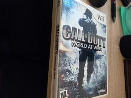 Nintendo Wii Call Of Duty: World At War image 1