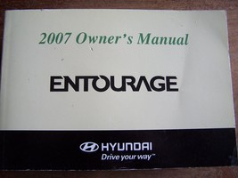 2007 hyundai entourage owners manual new original - $18.99