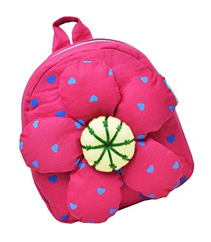 Fashion Infant Knapsack Toddle Backpack Kindergarten School Bag Pink Flower