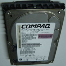 "18GB 3.5"" SCSI 80PIN Drive COMPAQ 233806-002 MAN3184MC BD0186459A Free USA Ship"