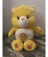 """Care Bear Sunshine Bear 14"""" Talking Plush- Sings-Talks-Moves-2015 *Teste... - $18.80"""