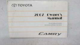 2007 Toyota Camry Owners Manual 53639 - $31.49