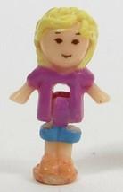 1989 Polly Pocket Vintage Doll Figure Wild Zoo World - Polly Bluebird Toys - $8.50