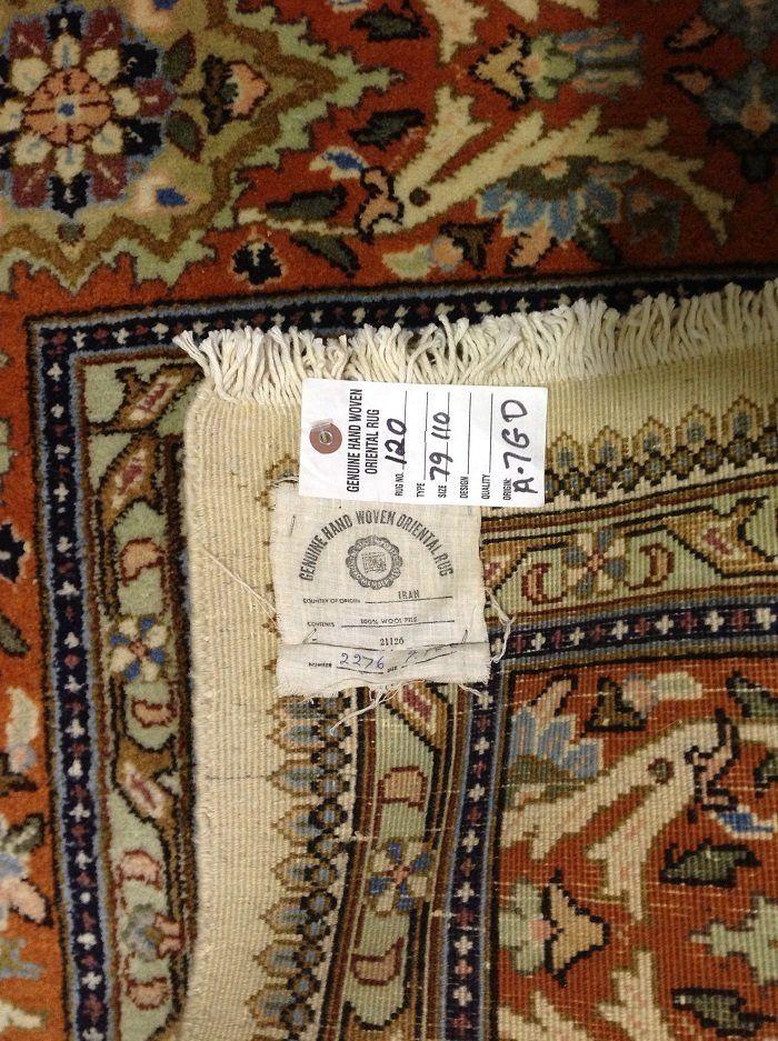"Genuine  Persian Tabriz Tabatabee Hand Made Wool Area Rug 6' 6"" X 9' 8"""