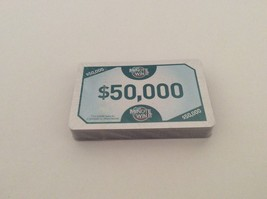 Minute To Win It Board Game Challenge Money Cards Complete Set 2011 Replacement - $8.59