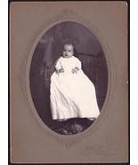 Mary Graham Cabinet Photo of Beautiful Baby - Sunbury, Pennsylvania - $17.50