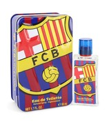 FC Barcelona by Air Val International Eau De Toilette Spray 1.7 oz for Men - $13.95