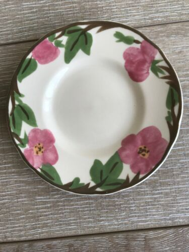 "Set 10 Franciscan Desert Rose Bread Plate 6"" New Modern Stamp Replacement image 2"