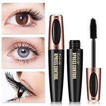 4D Silk Fiber Lash Mascara Waterproof Mascara Eyelash Thick Lengthening ... - $3.58