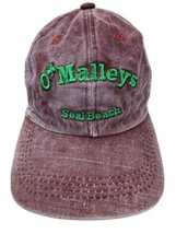 O'Malleys Seal Beach Authentic Irish Pub Adjustable Adult Cap Hat - $12.86