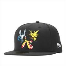New Era Pokemon collaboration cap 59FIFTY FLYING TRIO Black - $95.99
