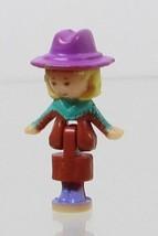1994 Vintage Polly Pocket Dolls Light-Up Horse House Polly Bluebird - $7.50