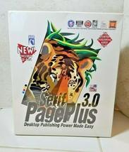 Serif 3.0 Page Plus Desktop Publishing Suite NEW Factory Sealed + Mega A... - $39.55